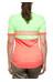 adidas Response Team Jersey korte mouwen Dames groen/oranje